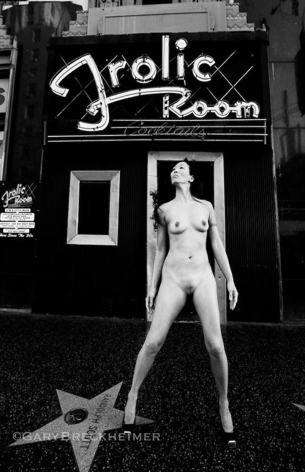 The Frolic Room Artistic Nude Artwork by Model Ree Ja