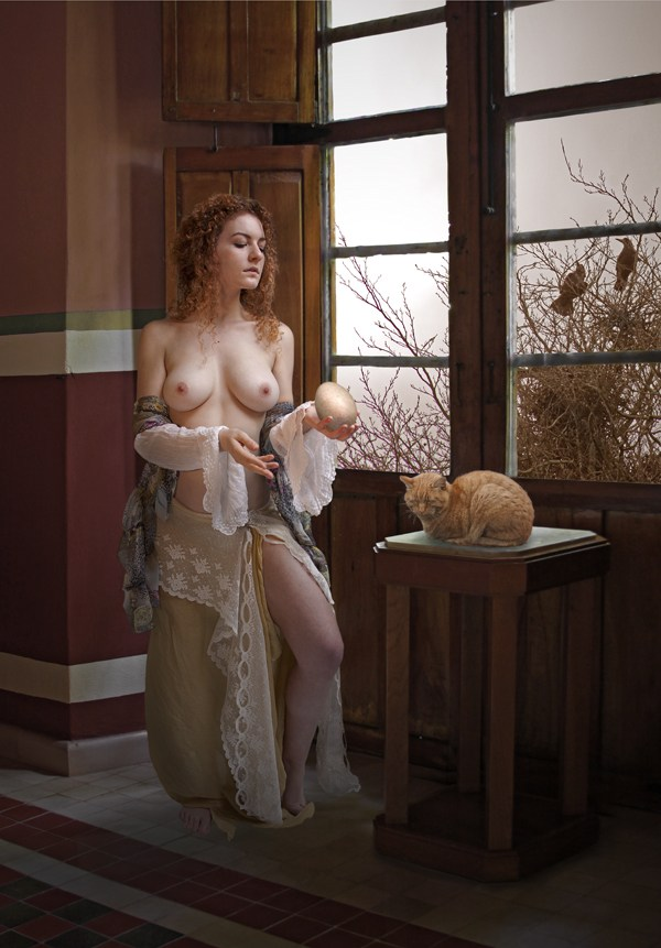 The Future is Precarious Artistic Nude Photo by Photographer Douglas Ross