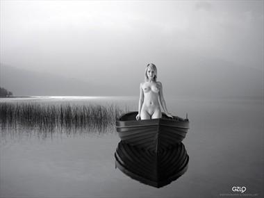 The GIRL LAKE Artistic Nude Photo by Artist GonZaLo Villar