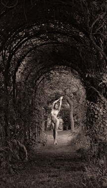 The Garden Artistic Nude Artwork by Model Rosa Brighid