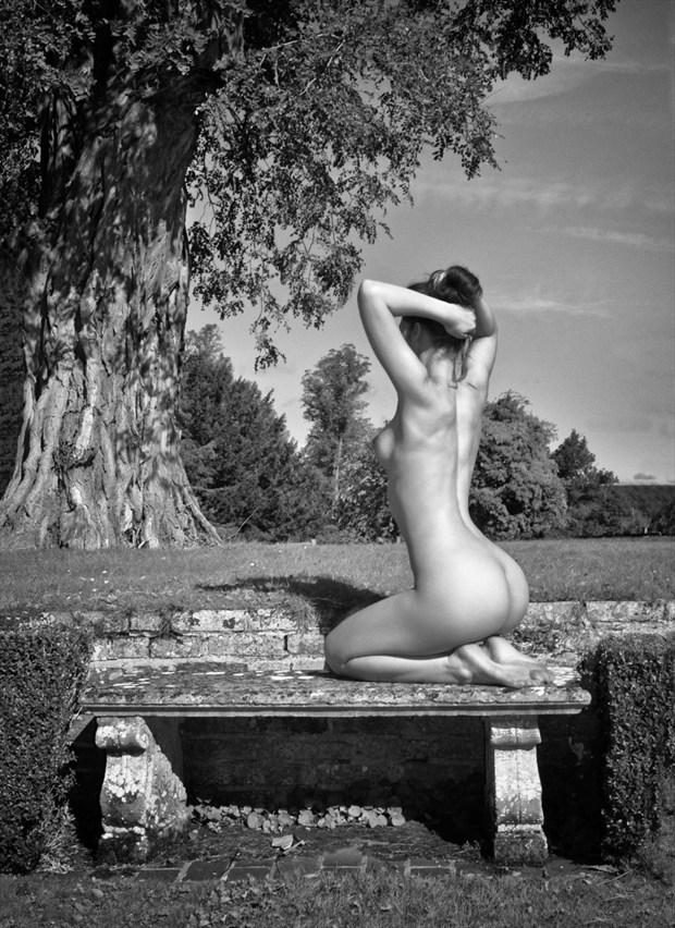 The Garden Bench Artistic Nude Photo by Photographer RayRapkerg