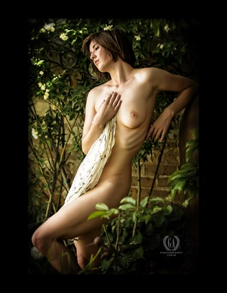The Garden with Nymph Artistic Nude Photo by Photographer G A Photography