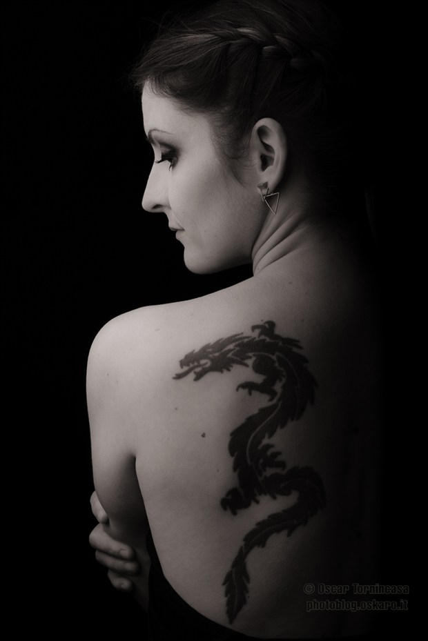 The Girl... Tattoos Photo by Photographer oscar tornincasa
