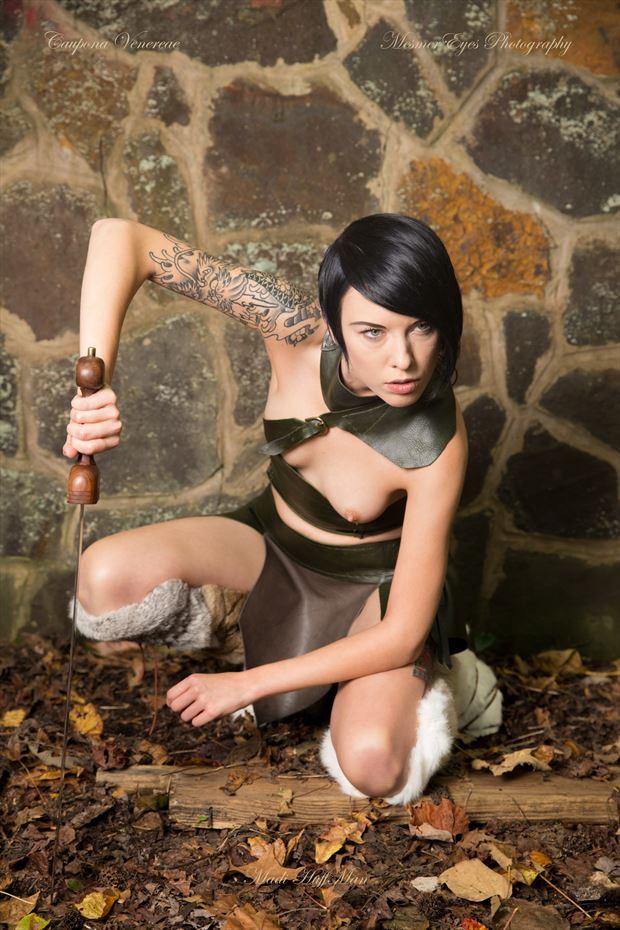 The Gladiatrix: Observation Fantasy Photo by Photographer Mez