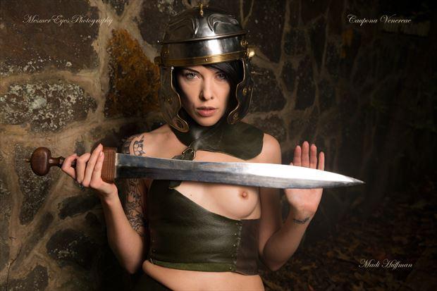 The Gladiatrix: Stare Down Tattoos Photo by Photographer Mez