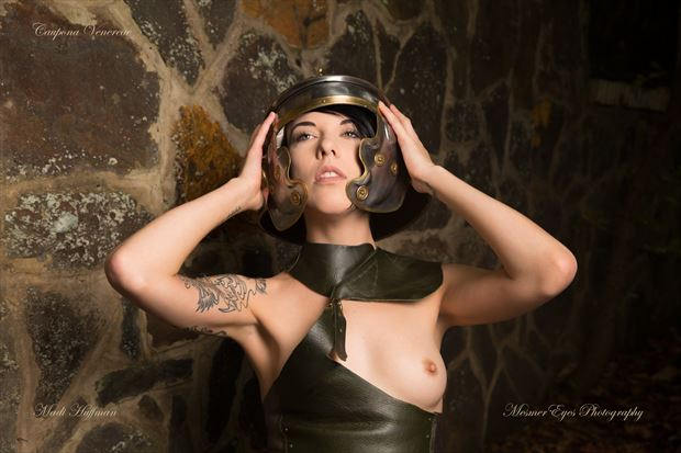 The Gladiatrix: The Helm Cosplay Photo by Photographer Mez