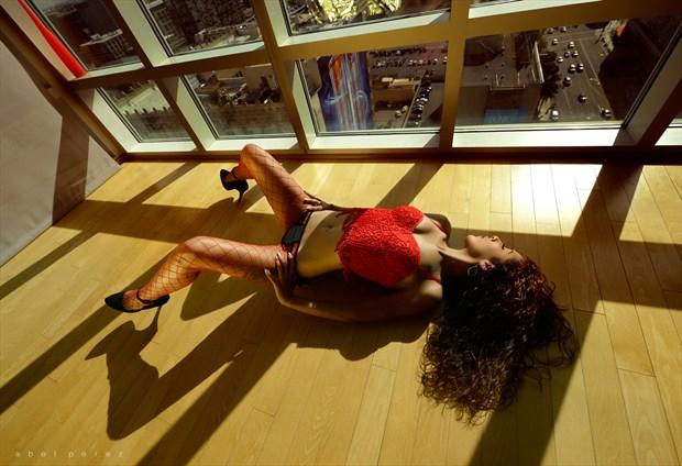 The Gold Room Lingerie Artwork by Photographer Mindplex