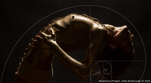 The Golden Ratio Artistic Nude Photo by Photographer Bokehccino Project