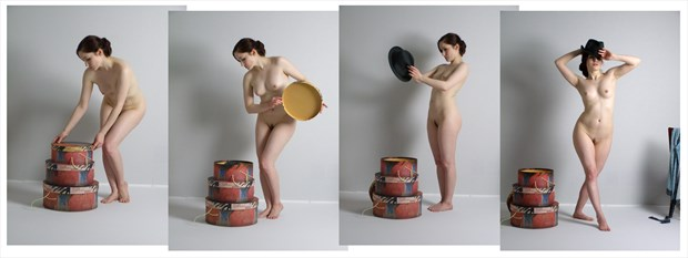 The Hatbox Artistic Nude Photo by Photographer LK Withers