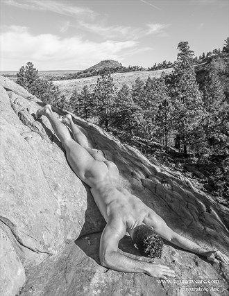 The Hero Falls Artistic Nude Photo by Photographer Figurative Arc