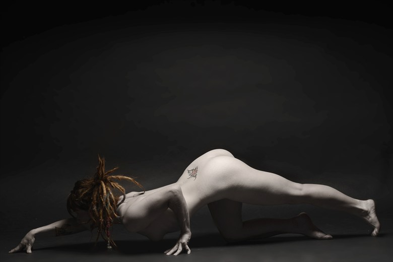 The Hunters Prowl Artistic Nude Photo by Photographer Mark Bigelow