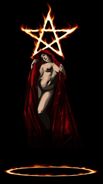 The Invocation Of Lilith Artistic Nude Artwork by Artist boot cheese 3000