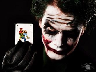 The Joker Cosplay Photo by Photographer Edwin van Wijk
