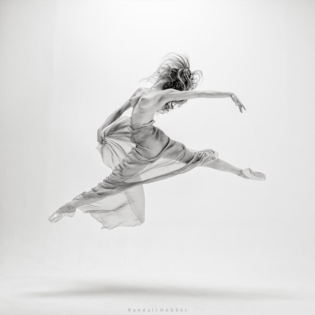 The Joy of Dance Artistic Nude Photo by Photographer Randall Hobbet