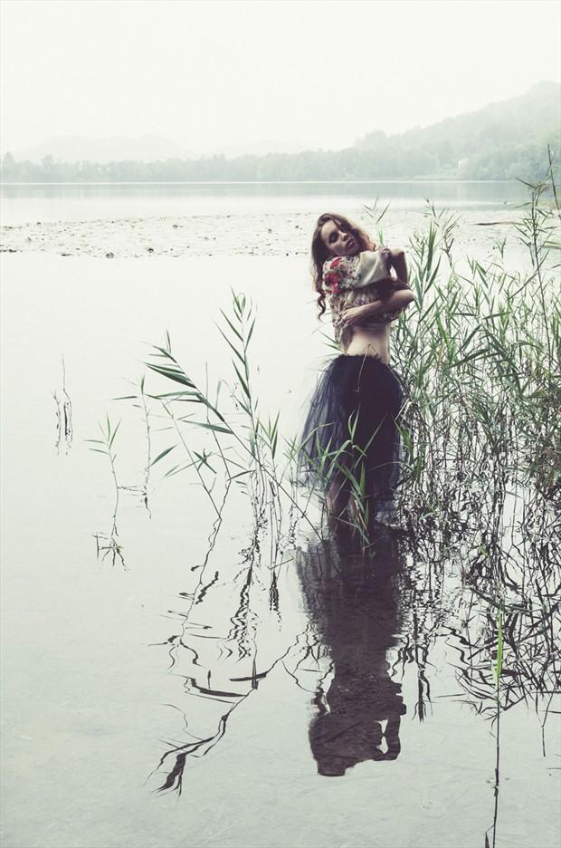 The Lake Sensual Photo by Model Luna Nera
