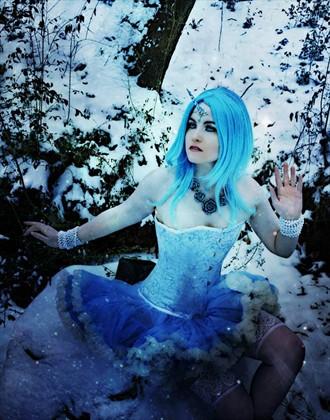 The Last Snow Unicorn Cosplay Photo by Model AtenaMy