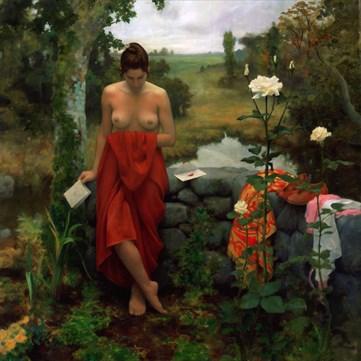 The Letter Nature Artwork by Artist Matthew Joseph Peak