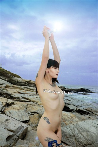 The Lighthouse Artistic Nude Photo by Photographer Rahndevue