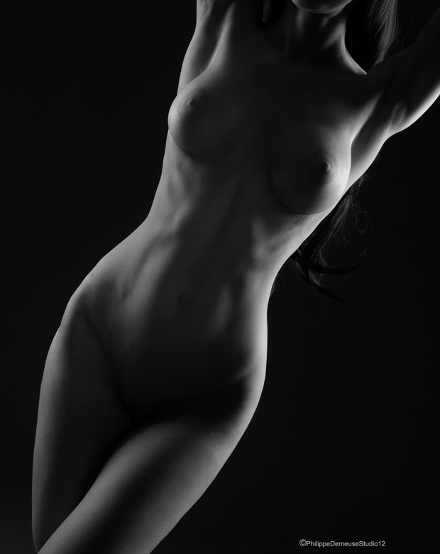 The Line Artistic Nude Artwork by Photographer PhilippeDemeuseStudio12