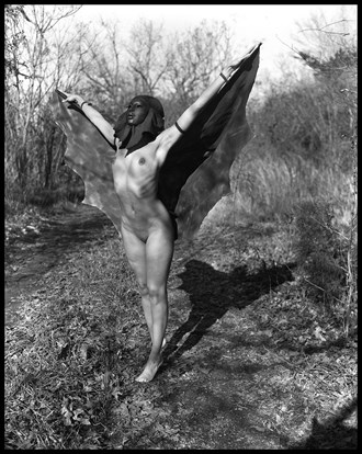 The Luna Moth Artistic Nude Photo by Photographer Grant Beecher