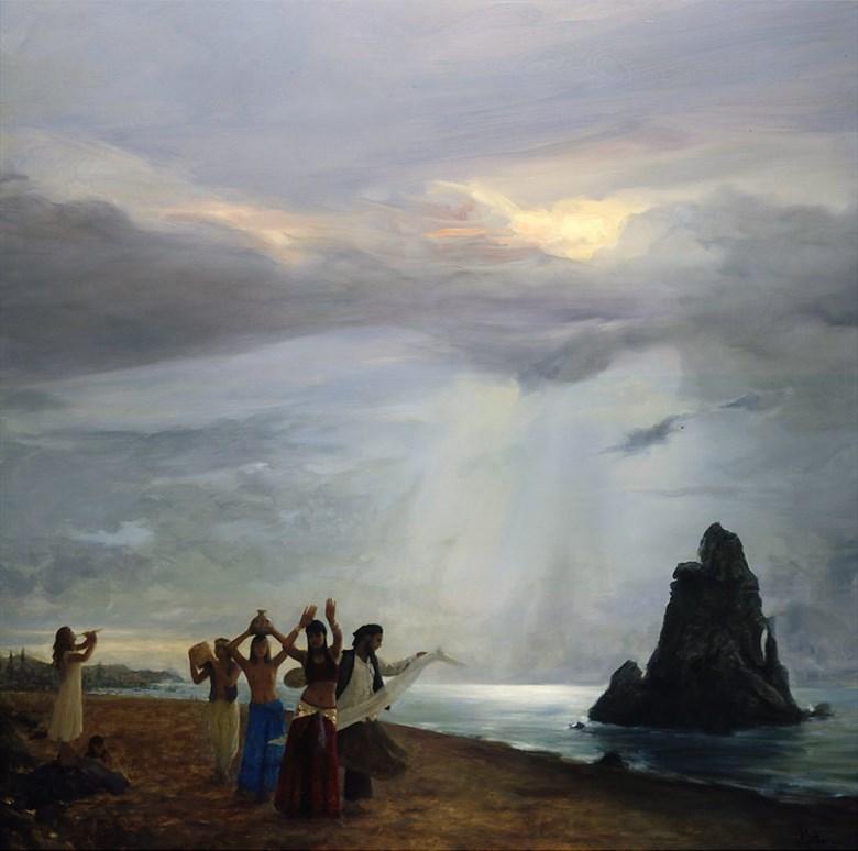 The Meanderers Way Natural Light Artwork by Artist Matthew Joseph Peak