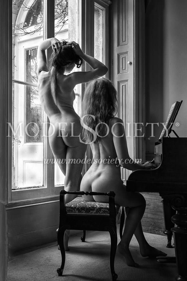 The Music Room Artistic Nude Photo by Photographer Carl Grim