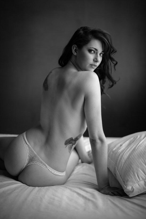 The Night Tattoos Photo by Model Arielita