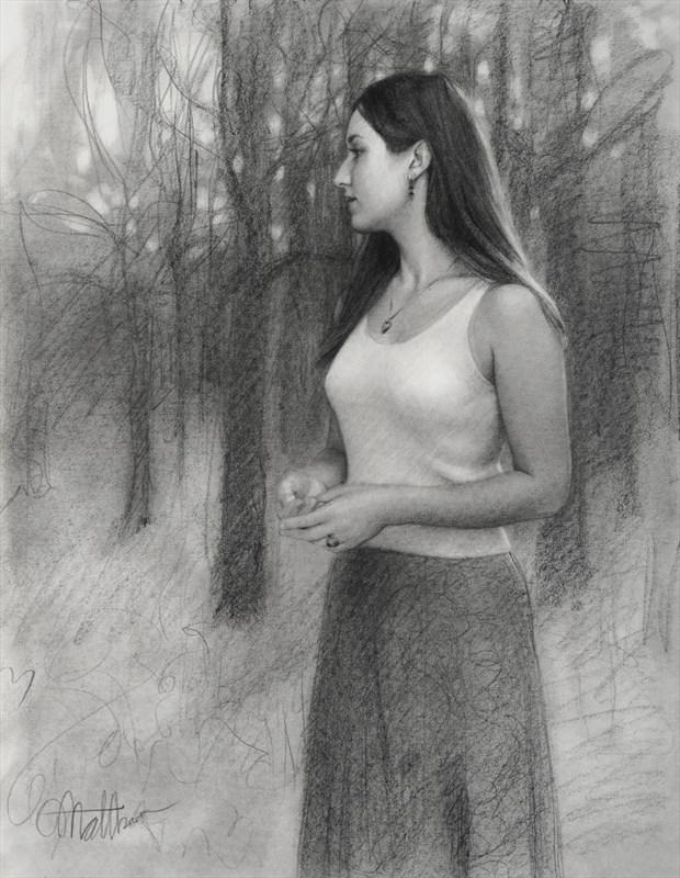 The Note for Jenny Nature Artwork by Artist Matthew Joseph Peak