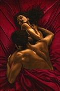 The Passion Artistic Nude Artwork by Artist Richard Young