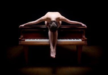 The Piano Artistic Nude Photo by Photographer Tim Pile