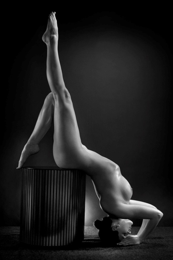 The Point Artistic Nude Photo by Model Mila