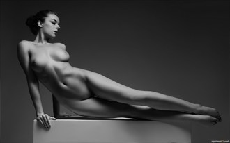 The Posing Box   Elongation Artistic Nude Photo by Photographer Terry King