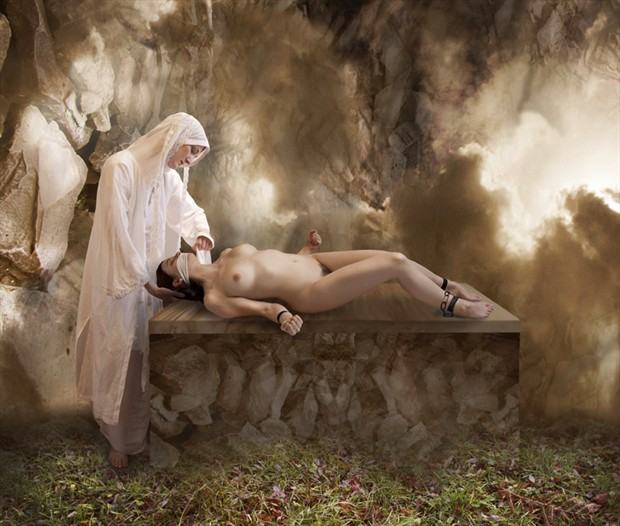 The Power to Silence Artistic Nude Photo by Photographer Douglas Ross