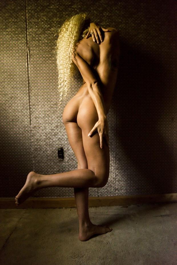 The Prodigious, Bravura Poetress Artistic Nude Photo by Artist DLGital