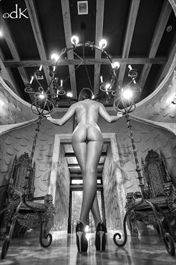 The Queens Throne Artistic Nude Photo by Photographer dennis keim