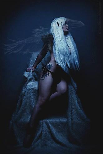 The Raven  Fantasy Photo by Model Ashley Love
