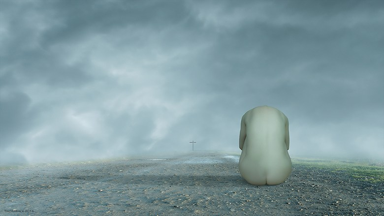 The Right Path Artistic Nude Artwork by Photographer Thornback