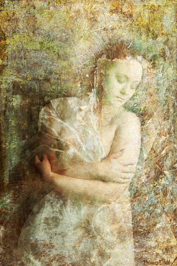 The Rite of Demeter Surreal Artwork by Model Ashley Indigo