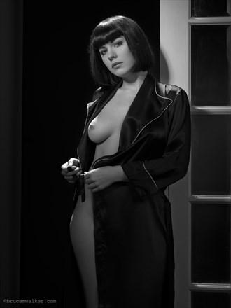 The Robe Lingerie Photo by Model Dorrie Mack