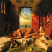 The Room Artistic Nude Artwork by Artist Matthew Joseph Peak