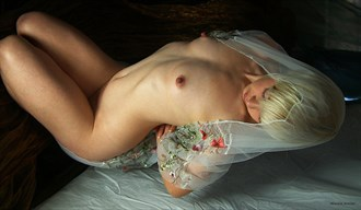 The Rose Artistic Nude Photo by Photographer Howard Nowlan
