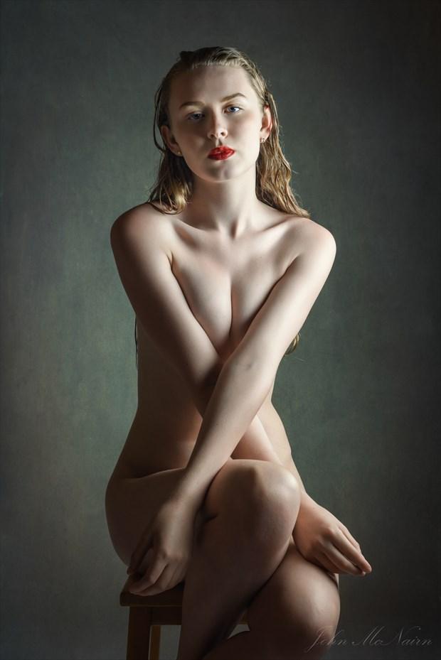 The Sadness of Red Studio Lighting Photo by Photographer Rascallyfox