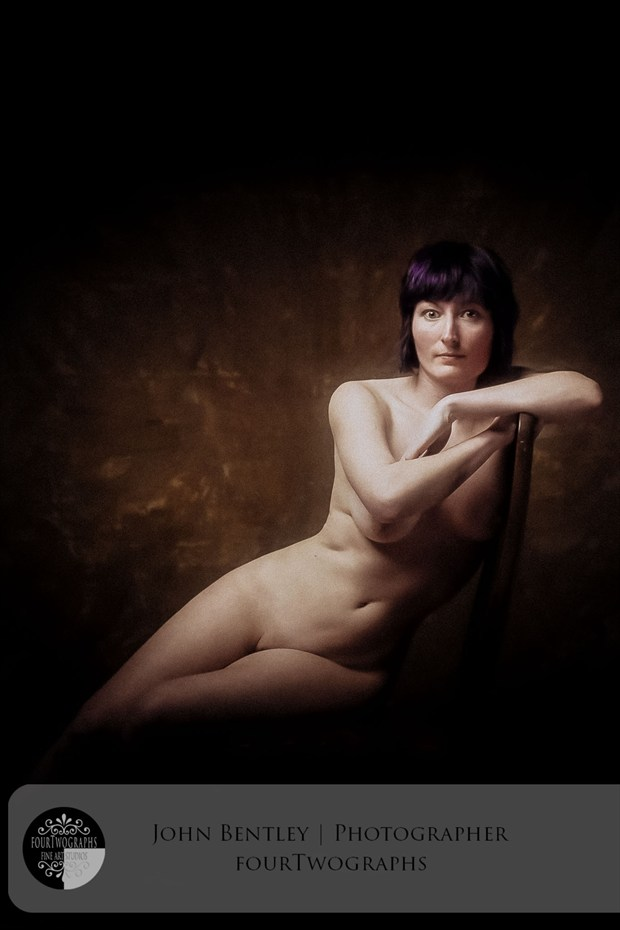 The Sitter Artistic Nude Artwork by Photographer JohnB