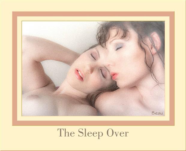 The Sleep Over Artistic Nude Photo by Photographer Beau