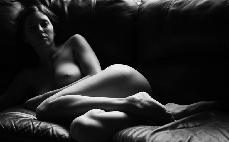 The Sofa 1 Artistic Nude Photo by Photographer afplcc