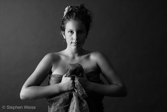The Stare with fabric  Portrait Photo by Photographer Sacred Vessel