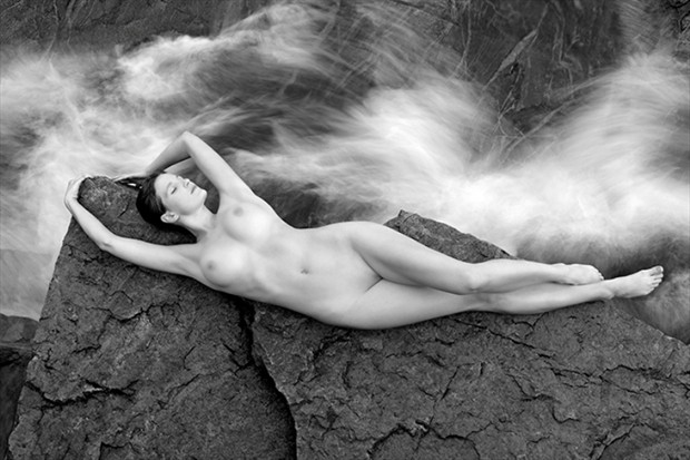 The Storm Artistic Nude Photo by Model Mila
