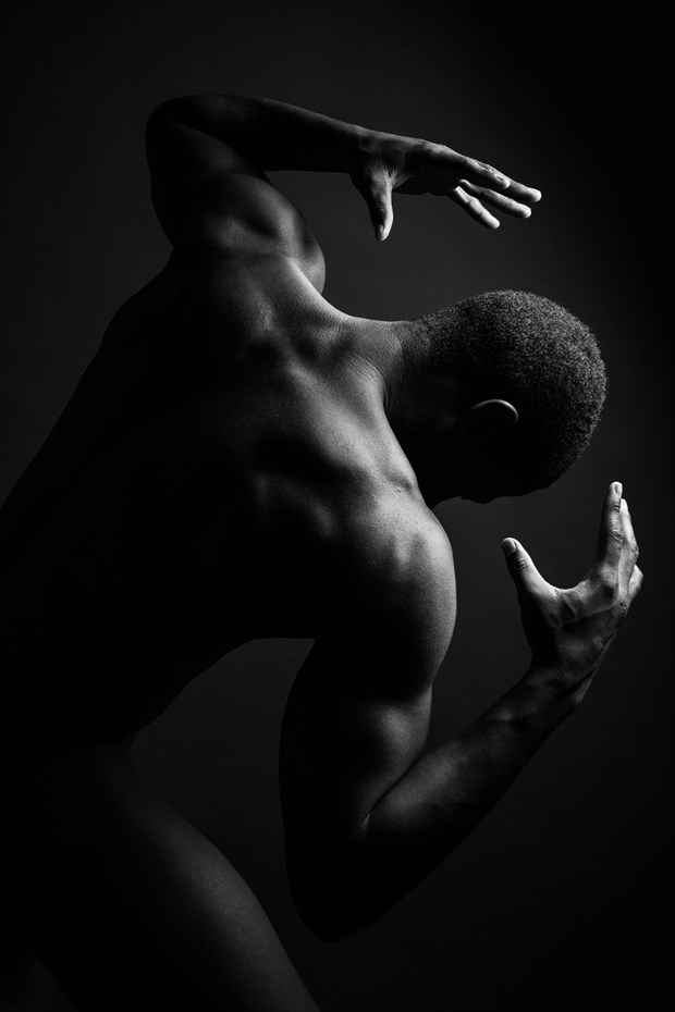 The Strength of Man Artistic Nude Photo by Photographer Trey Visions
