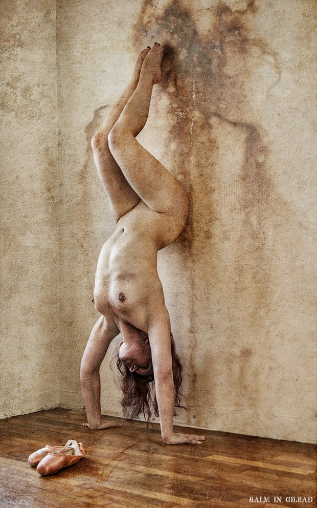 The Surest of Footing Artistic Nude Photo by Model Miss Pixie