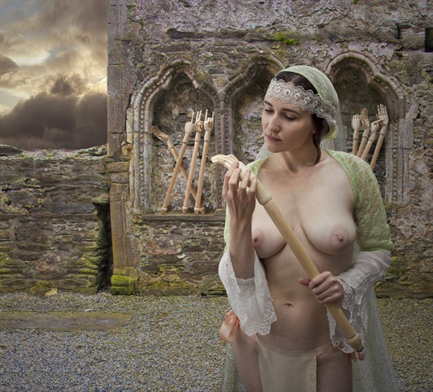 The Taking Up of Arms Artistic Nude Photo by Photographer Douglas Ross